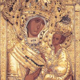 Молебен перед Тихвинской Иконой Божией Матери